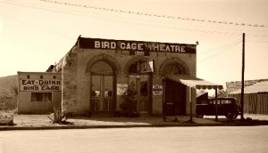 Birdcage Theater 1930s