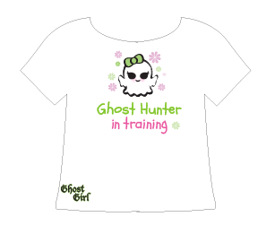 Ghost Girl Paranormal T-shirt