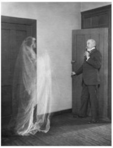 man and ghost