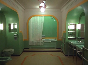 The Shinnig Bath Scene in Room 237